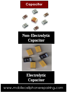 Mobile Cell Phone Capacitor