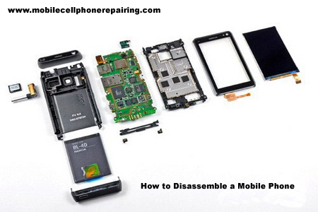 How to Open and Disassemble a Mobile Cell Phone | Mobile Phone ...