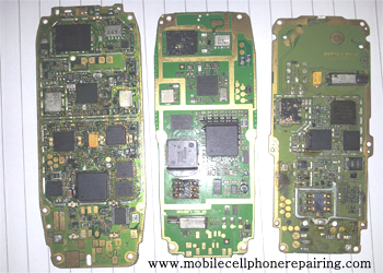SMD Components of Mobile Phone PCB