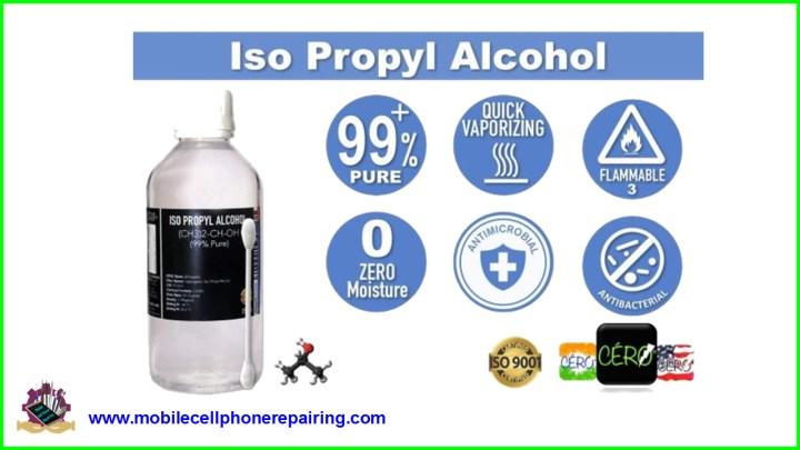 IPA for Mobile Phone Repairing | Isopropyl Alcohol | PCB