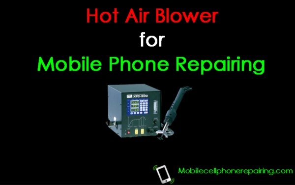 Hot Air Blower for Mobile Phone Repairing