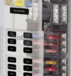 blue sea st 5032 12 way split blade fuse block with neg bus 2 x 6 way mobile centre [ 800 x 1127 Pixel ]