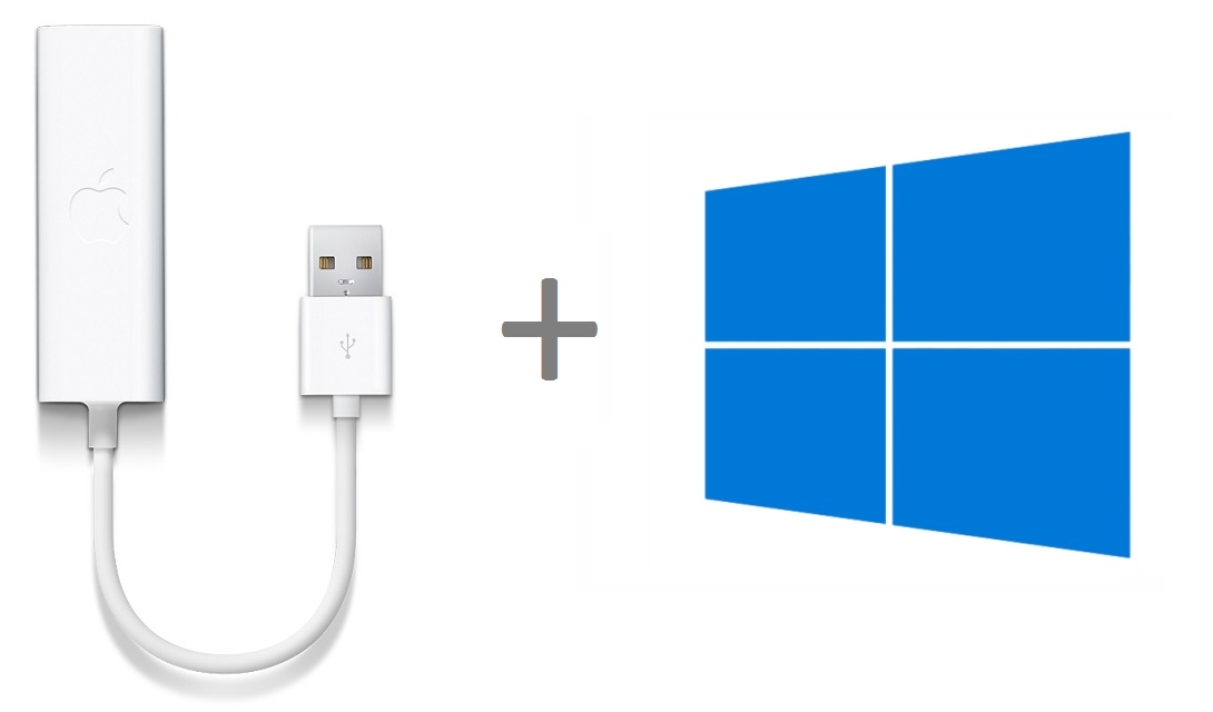 How to install drivers for the Apple USB Ethernet adapter on Windows