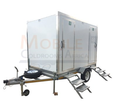 Mobile toilet trailers