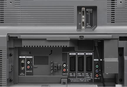Panasonic TH-42 PX 60 E - Connection Panel