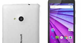 Microsoft Lumia 650 vs. Moto G 3rd Gen