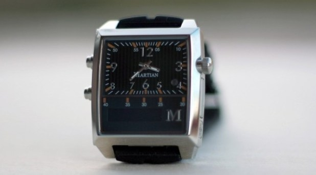 Martian Watch A Bluetooth enabled smartwatch let things done via voice