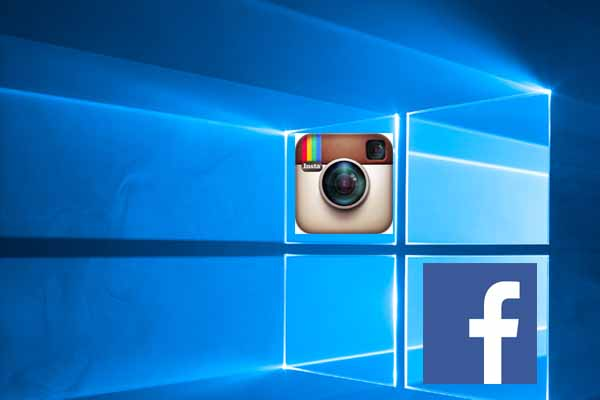 Now Facebook, Messenger, and Instagram Apps on Windows 10