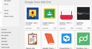 Android Add-Ons on Google for Sheets and Docs