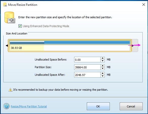 Step 2 - MiniTool Partition Wizard