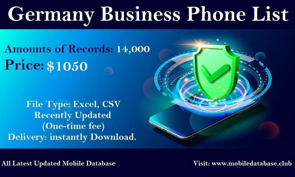 Germany Business Phone List