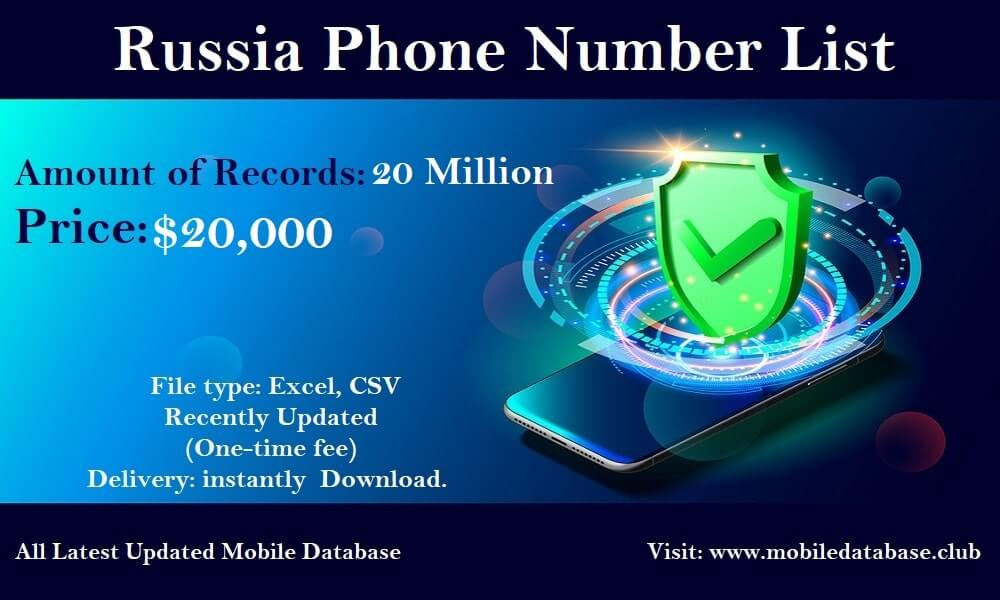 Russia Phone Number List