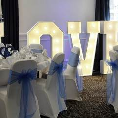 Chair Cover Hire In Birmingham Swing Drawing Mobile Disco Baby Blue