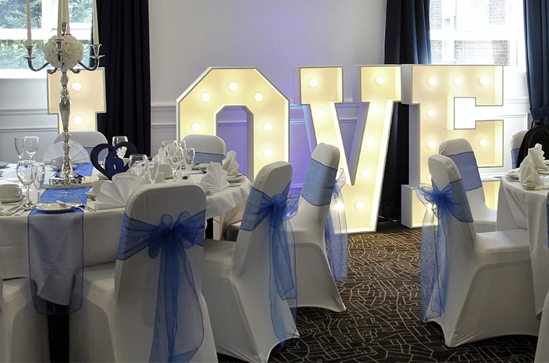 chair cover and sash hire birmingham folding adirondack polywood mobile disco baby blue