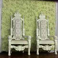 Wedding Chair Cover Hire Cannock Tyne And Wear Mr Mrs Throne Bride Groom Thrones White For Weddings In