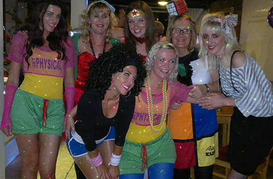 80's themed disco Hull DJ Hire Beverley East Yorkshire