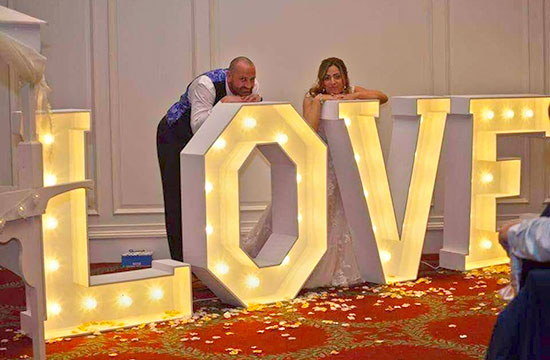 wedding love letter hire East Yorkshire Northern Lincolnshire