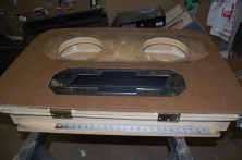 HHR custom box with trim on top