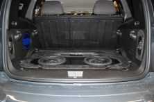 Completed Chevrolet HHR audio Install