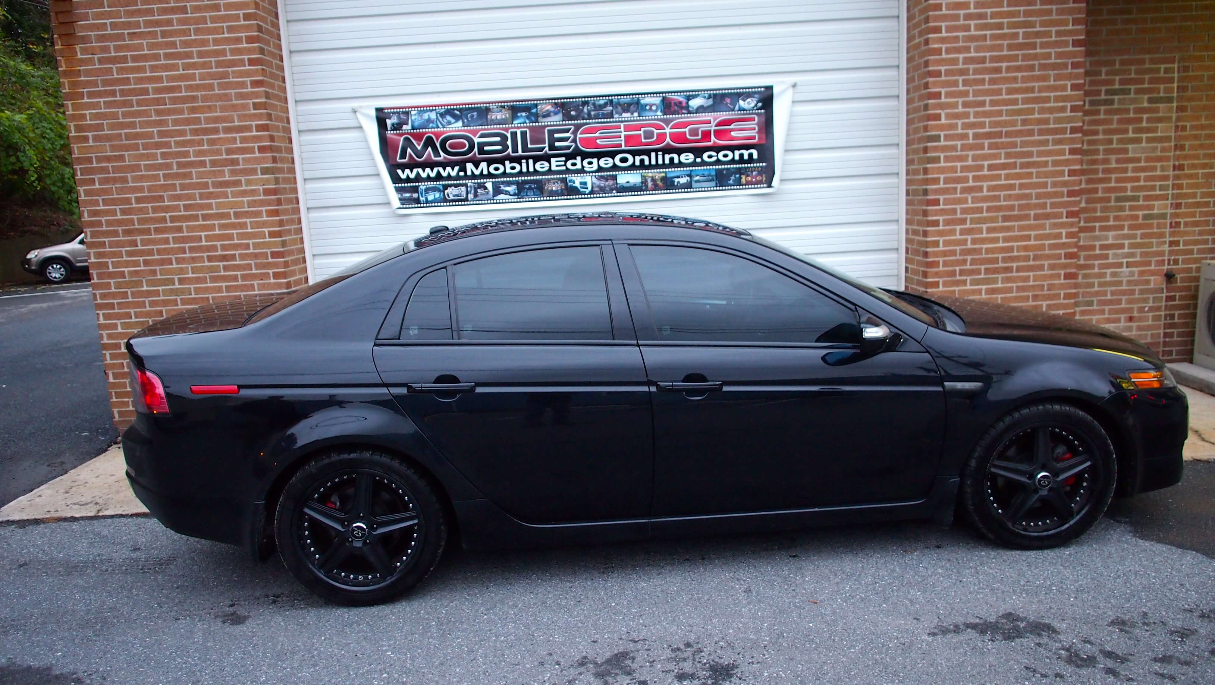 Acura Tl Gets Professional Window Tinting And Top Of The Line Remote 2012 Ford Focus Tinted Windows 2008 Tint