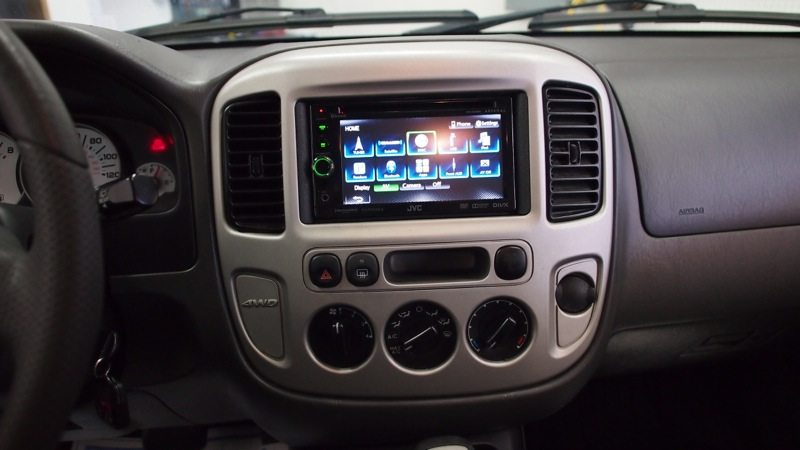 Jvc Car Stereo Wiring Diagram Ford Escape Radio Upgrade Adds 2013 Functionality To 2003