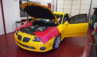 2005 Pontiac GTO Window Tint Installation