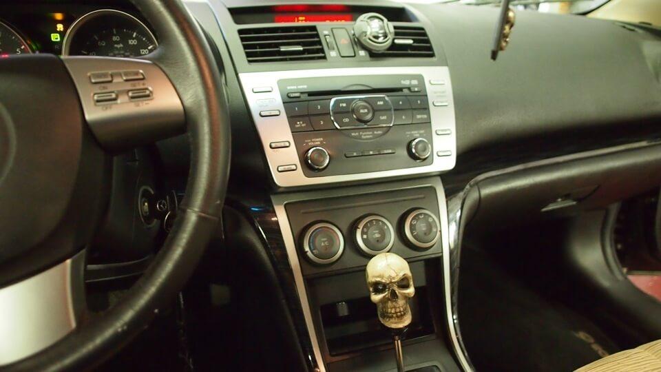 Mazda 6 Audio Upgrade Leaves Factory Radio In The Dash