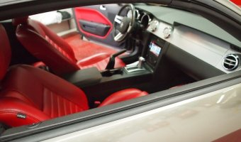 Mustang Bluetooth Upgrade Integrates Perfectly In The Dash
