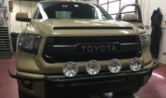 2016 Toyota Tundra from Jim Thorpe Outfitted with Lighting Upgrades