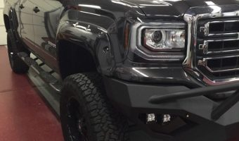 2016 GMC Sierra Gets Window Tint and a Bed Extender