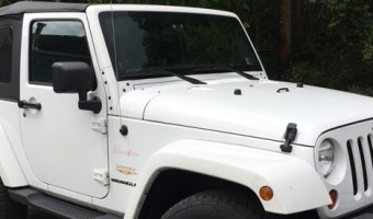 Lehighton Client Adds New Radio to Wife's Jeep Wrangler