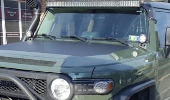 Lehighton Client Adds 2012 Toyota FJ Cruiser Off-road Accessories