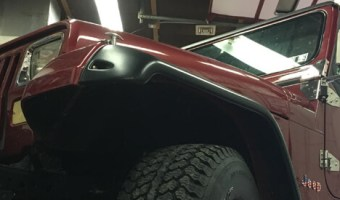 Germansville Jeep Client Adds Wrangler Audio System