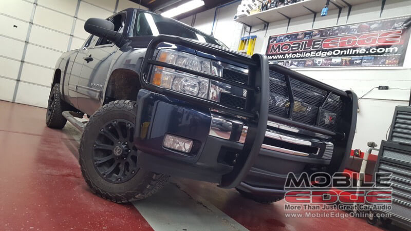 Chevy Silverado Grille Guard