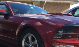 Jim Thorpe Client Upgrades 2005 Ford Mustang Radio