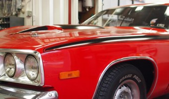 Classic Plymouth Road Runner Audio Upgrade for Lehighton Client