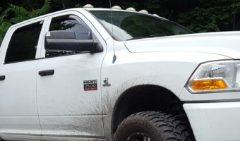 Bath Client Chooses Window Deflectors and 3M Tint for 2010 Ram 1500