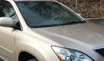 Allentown Client Adds Lexus RX350 Backup Camera System