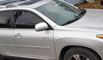 2012 Toyota Highlander Gets Family Trip Video Headrest Upgrade