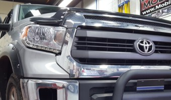 Palmerton Client Adds Go Rhino Bull Bar to 2015 Toyota Tundra
