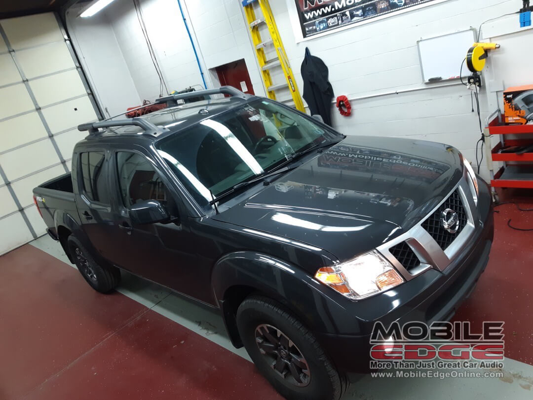 window tint applied to 2015 nissan frontier