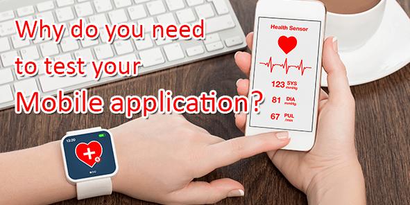 test mobile application