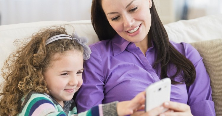 smartphone for moms