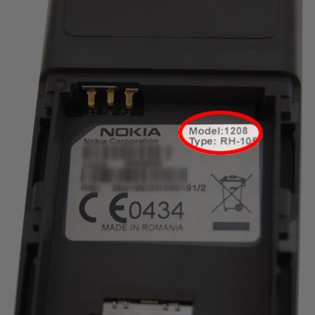 How to find your Nokia Model Number  Mobile Fun Blog
