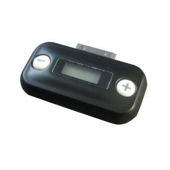 Bubblegum FM Transmitter iPhone - Black