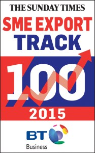 Sunday Times BT Business SME Export Track 100 logo