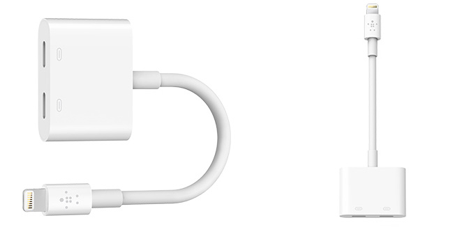 How to charge iPhone 7 and use headphones at the same time
