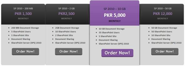 Share Point Hosting PITB