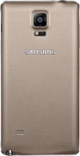 galaxynote 4 back gold