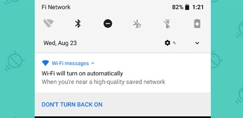 android 8 oreo smart wifi automatically on